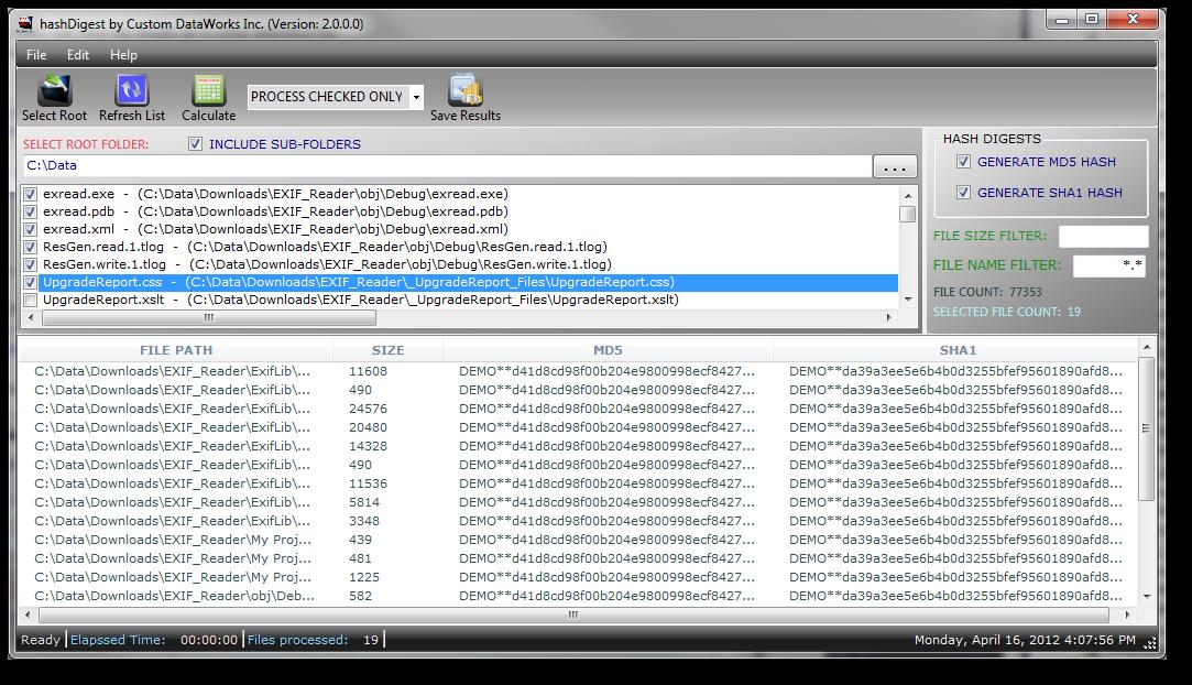 Windows 7 HashDigest 2.0 full