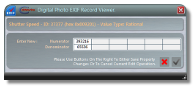 EXIF Editor - Edit RATIONAL value